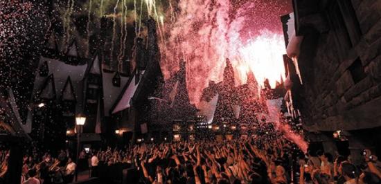 Harry Potter BlogHogwarts Inauguracion Parque Japon Tom Felton Evanna Lynch (7)