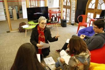 Actividad Pottérica en Campus Oriente de la Universidad Católica de Chile