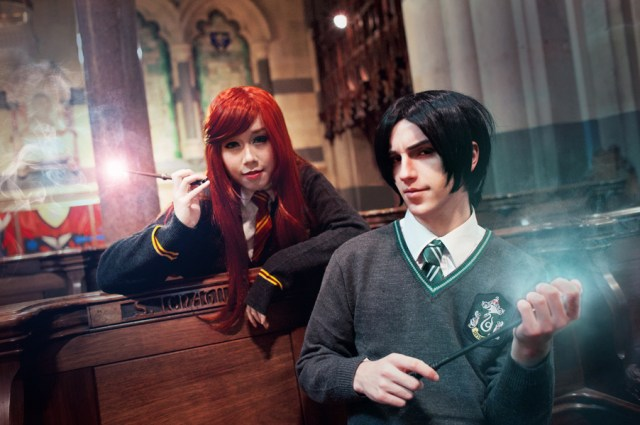 Harry Potter BlogHogwarts Cosplay Disfraz Halloween (18)