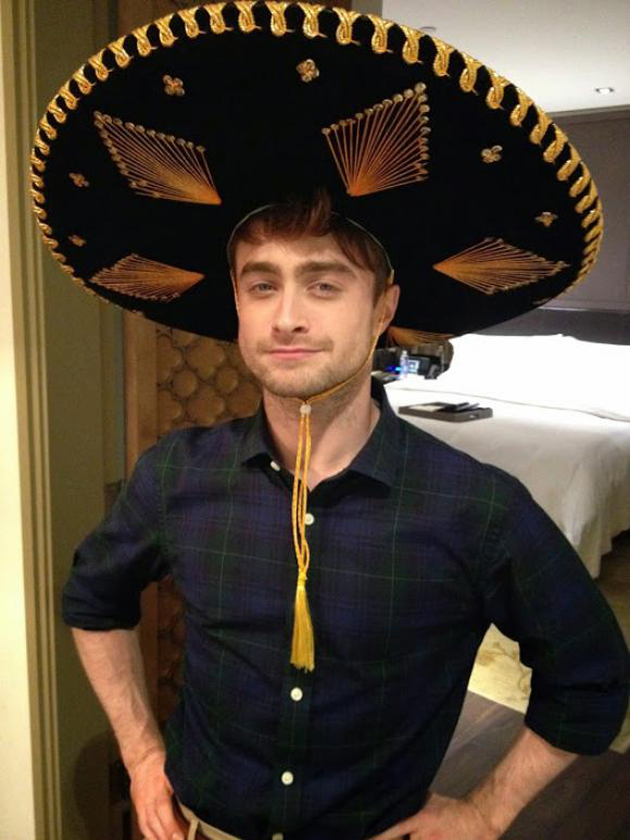 Harry Potter BlogHogwarts Daniel Radcliffe en Mexico