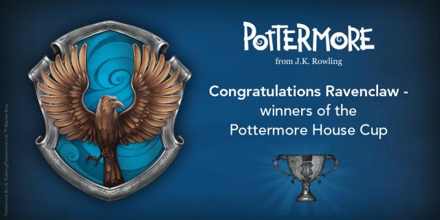 Harry Potter BlogHogwarts Ravenclaw Copa de las Casas Pottermore