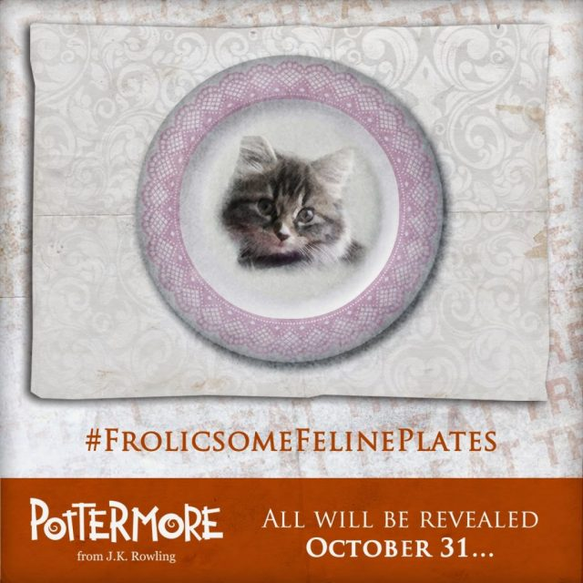 Harry Potter BlogHogwarts Plato Gato Dolores Umbridge (1)