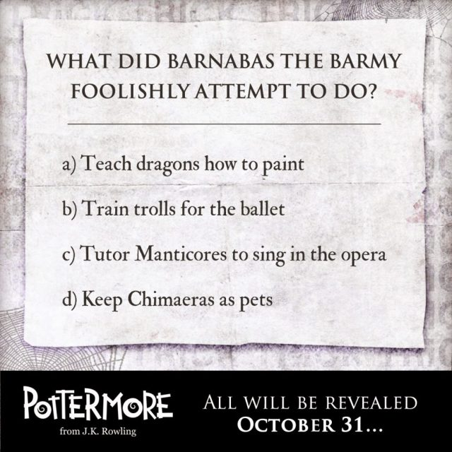 Harry Potter BlogHogwarts Truco Pottermore 2