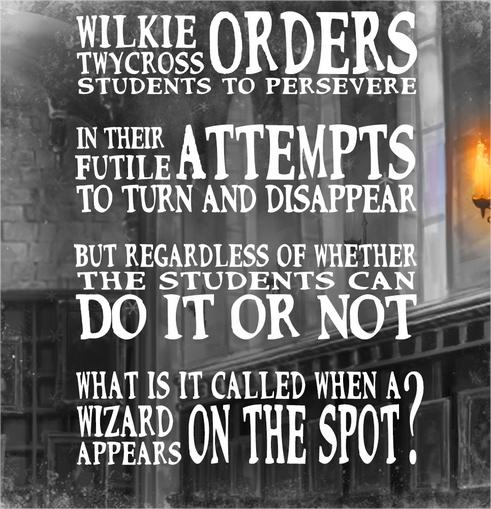 Harry Potter BlogHogwarts Acertijo 2