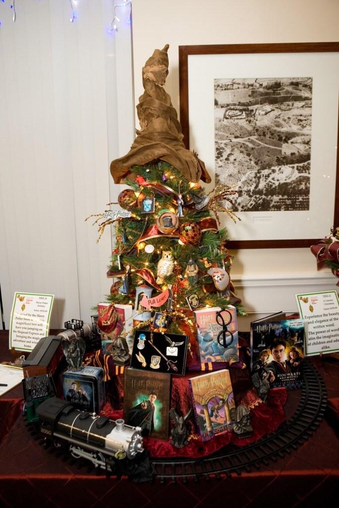 Harry Potter BlogHogwarts Navidad Arbol Ornamento (12)