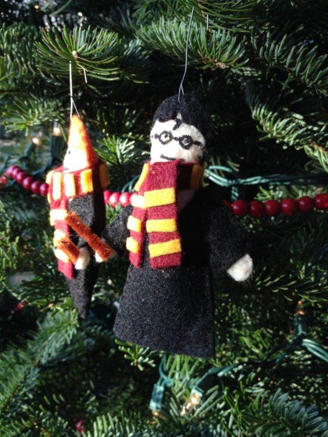 Harry Potter BlogHogwarts Navidad Arbol Ornamento (23)