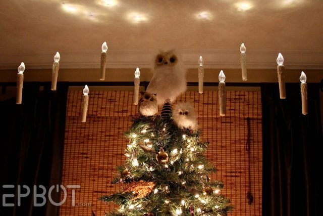 Harry Potter BlogHogwarts Navidad Arbol Ornamento (31)