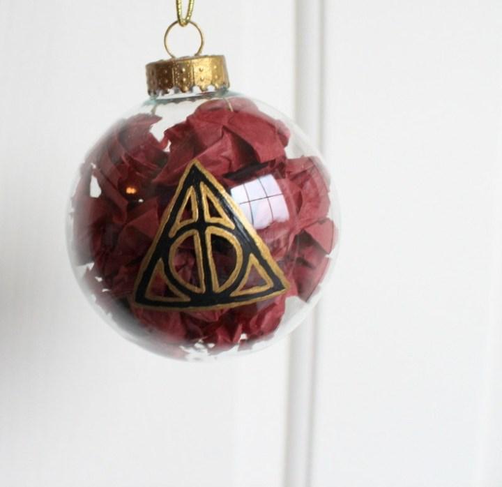 Harry Potter BlogHogwarts Navidad Arbol Ornamento (5)