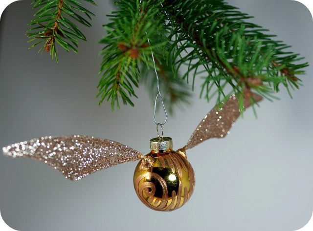 Harry Potter BlogHogwarts Navidad Arbol Ornamento (8)