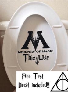 baño harry potter
