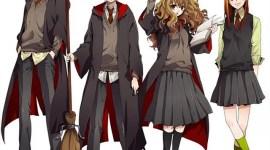 Así Sería Harry Potter en Versión Anime