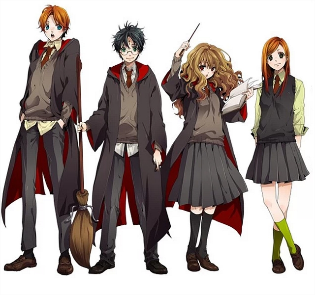 Harry Potter BlogHogwarts Anime (1)