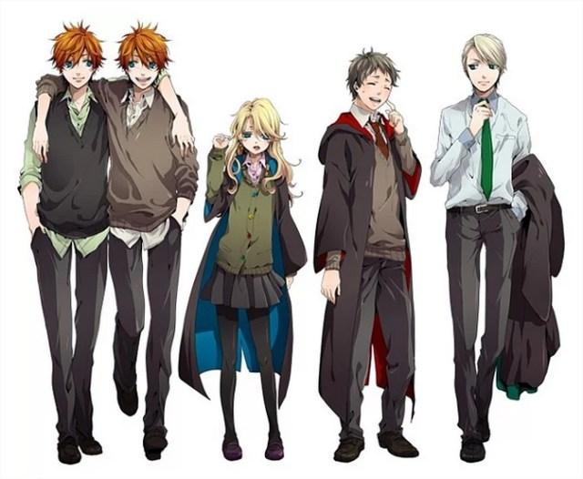 Harry Potter BlogHogwarts Anime (3)