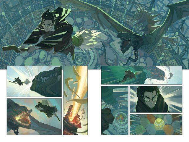 Harry Potter BlogHogwarts Comic (4)