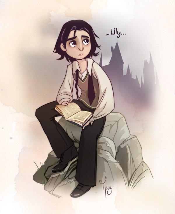 Harry Potter BlogHogwarts Fan Art Severus Snape (15)