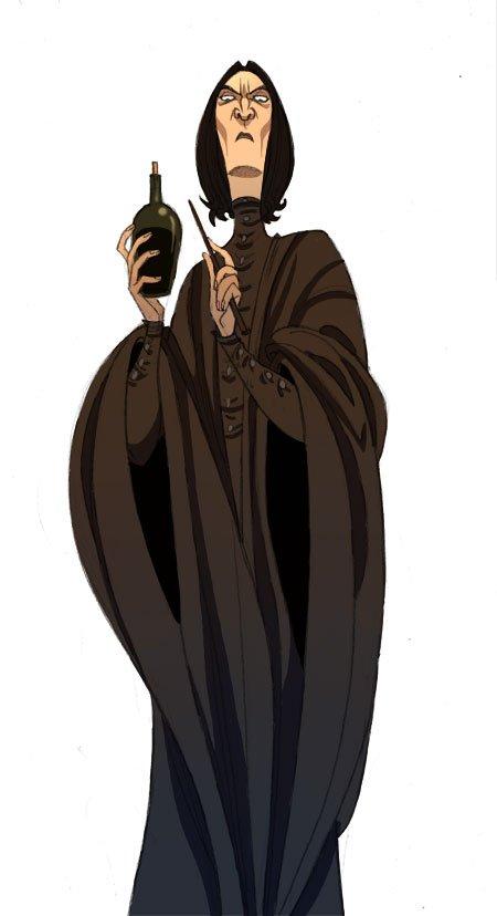 Harry Potter BlogHogwarts Fan Art Severus Snape (21)