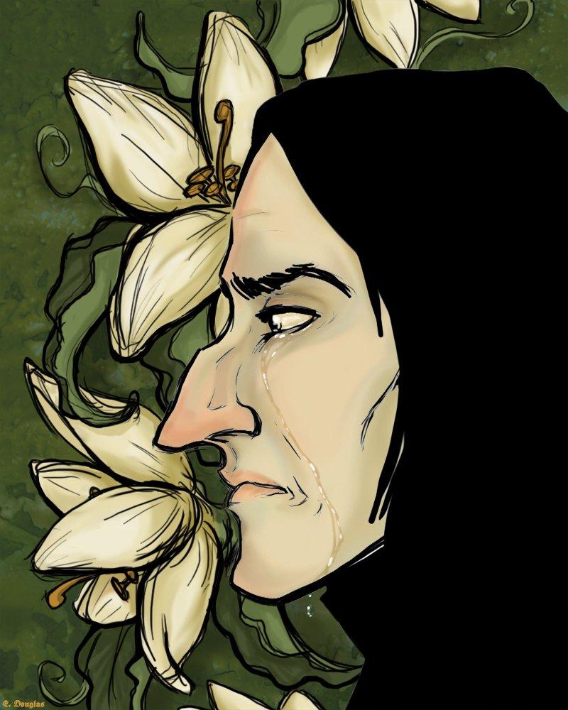 Harry Potter BlogHogwarts FanArt Severus Snape (1)