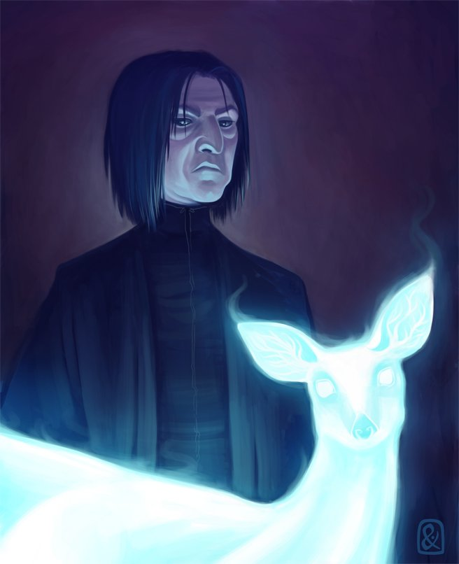 Harry Potter BlogHogwarts FanArt Severus Snape (7)