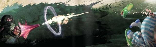 Harry Potter BlogHogwarts Ilustrado Hagrid Cola Cerdo Dudley
