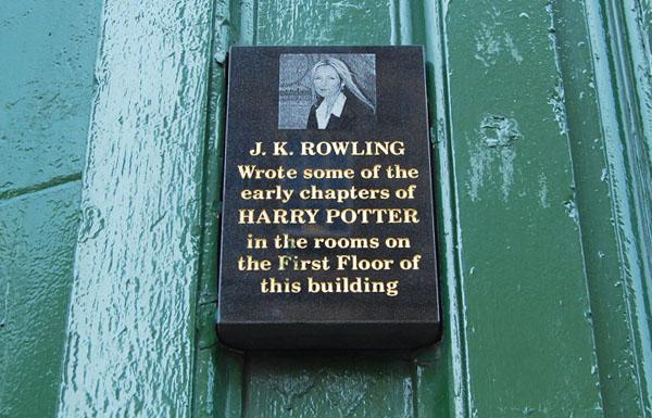 Harry Potter BlogHogwarts JK Rowling Edimburgo 1