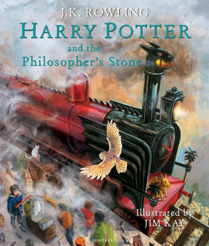 Harry Potter BlogHogwarts Portada Ilustrada Bloomsbury