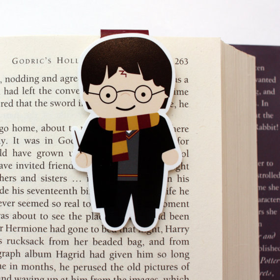 Harry Potter BlogHogwarts Marcador Libro (1)