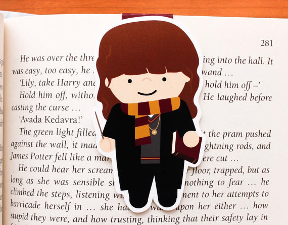 Harry Potter BlogHogwarts Marcador Libro (2)