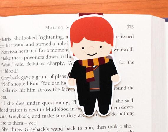 Harry Potter BlogHogwarts Marcador Libro (3)