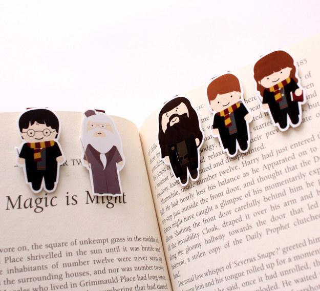 Harry Potter BlogHogwarts Marcador Libro (5)