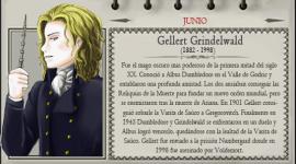 Gellert Grindelwald – Mago del Mes Junio