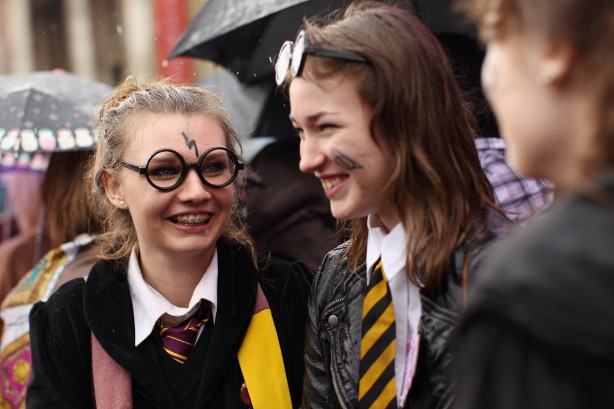 harry potter chicas