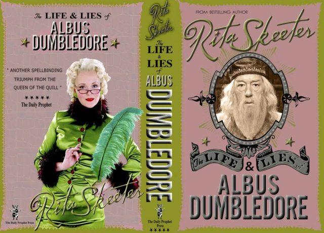 Harry Potter BlogHogwarts Vida Mentiras Albus Dumbledore