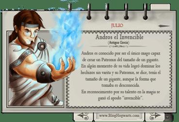 Andros el Invencible – Mago del Mes Julio
