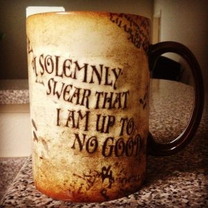 juramento potter taza
