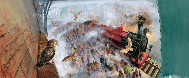 Harry Potter BlogHogwarts Portada Piedra Filosofal Ilustrado