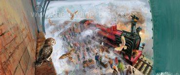 Revelada portada completa de la edición ilustrada de 'Harry Potter y la Piedra Filosofal'