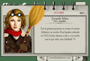 Jocunda Sykes – Mago del Mes Octubre