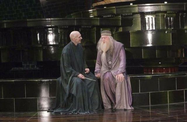 cuando voldemort y dumbledore