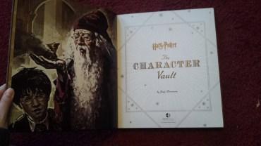 The Character Vault contiene información inédita sobre los personajes de Harry Potter