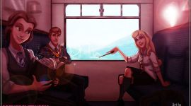 Personajes Favoritos de Disney, Re-Imaginados como Estudiantes de Hogwarts