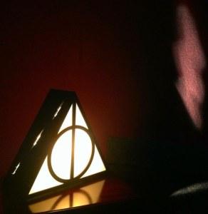 lampara reliquias de la muerte