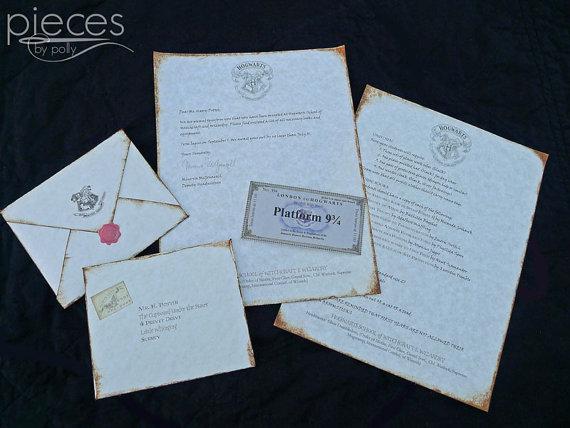 cartas de aceptacion hogwarts