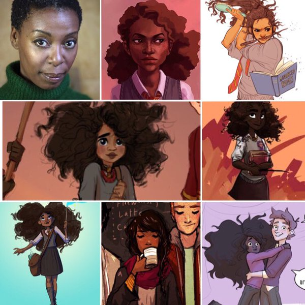 hermione negra