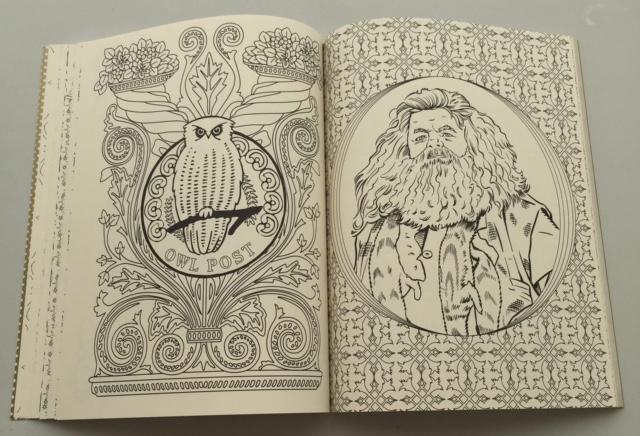 Dibujos Para Colorear Harry Potter: Foto-Reseña: Libro Para Colorear Oficial De Harry Potter