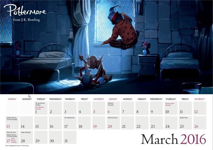 Harry Potter BlogHogwarts Pottermore Calendario 2016 (4)