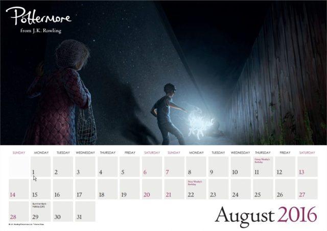 Harry Potter BlogHogwarts Pottermore Calendario 2016 (9)