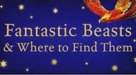 Vistazo de la portada del nuevo libro de Animales Fantásticos y Dónde Encontrarlos