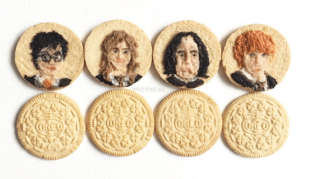 Harry Potter BlogHogwarts Oreo