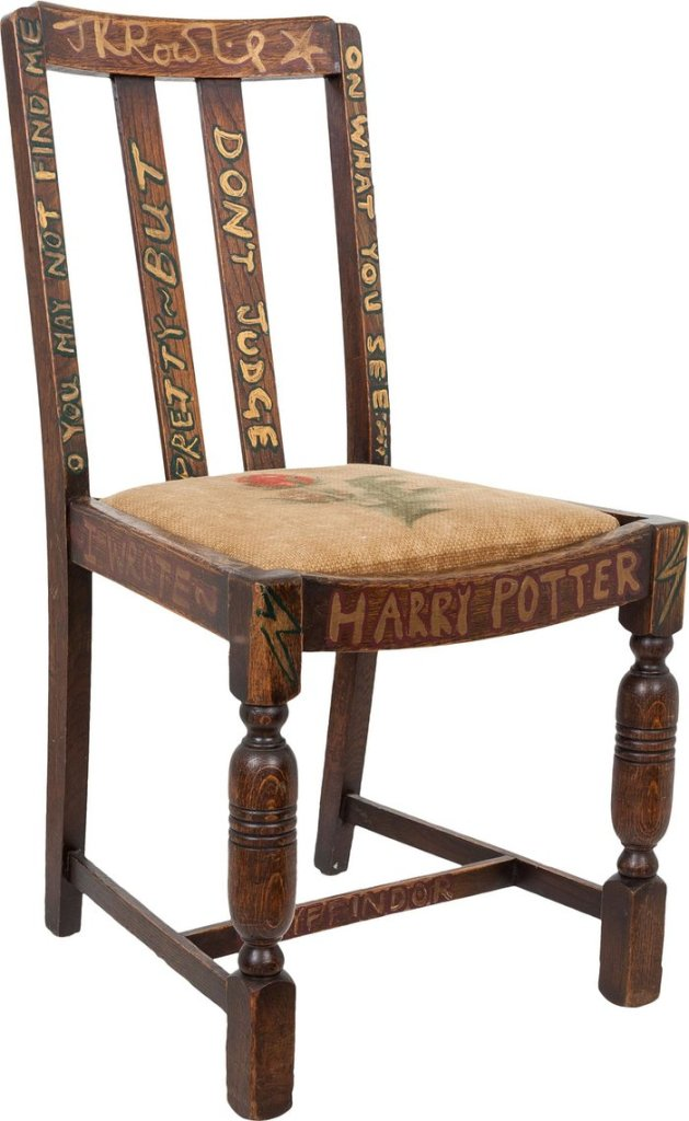 Harry Potter BlogHogwarts Silla JK Rowling