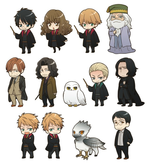 Las Figuras Kawaii De Harry Potter Disponibles Los Mini Funko
